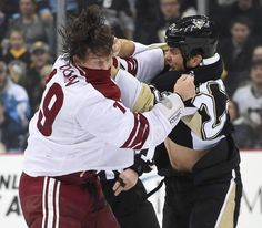 March 28, 2015 — Penguins 3, Coyotes 2 (Photo: Chaz Palla  |  Trib Total Media)