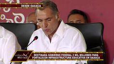2 MIL MDP PARA INFRAESTRUCTURA EDUCATIVA EN OAXACA