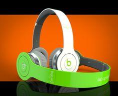 Beats by Dre headphones rendered in KeyShot by Adam.