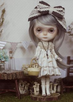 Customized Blythe Doll  Agnes. Complete with Custom by pidpenky, $899.00