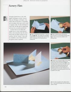 "Photo from album ""The Pop-Up Book"" on Yandex. Arte Pop Up, Pop Up Art, Foam Crafts, Diy And Crafts, Paper Crafts, Kirigami, Cuento Pop Up, Love Pop Up Cards, Cultura Maker"