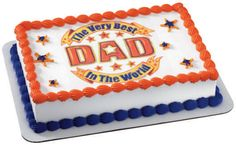 Father's Day Cakes - Best Dad in the World