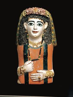 Mummy Mask, A.D. 60–70. Egyptian. The Metropolitan Museum of Art, New York. Rogers Fund, 1919 (19.2.6)