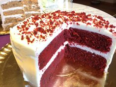 Red Velvet Cake 11 Velvet Cake, Red Velvet, Vanilla Cake, Sweet Recipes, Cheesecake, Homemade, Ethnic Recipes, Desserts, Regrets