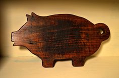 Primitive Pig Cutting Board on Etsy, Sold