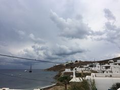 cloudy day in mykonos! luv this place..