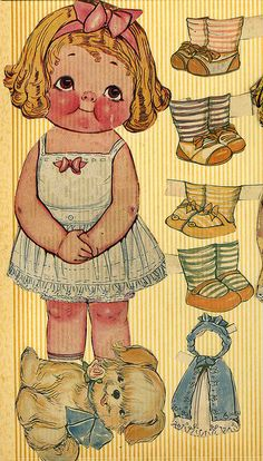 Grace Gebbie Drayton doll with shoes