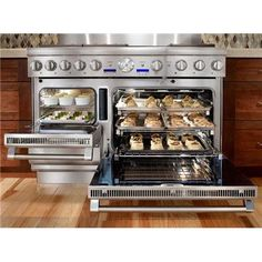 My dream oven - steam, convection, and gas cooking, plus a warming drawer.