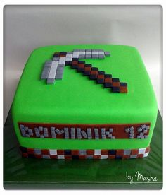 Minecraft cake / minecraft torta