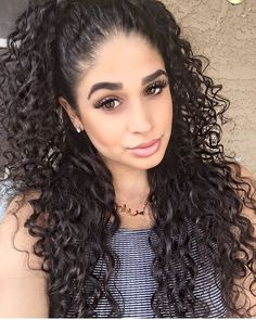 Right Hair Indian Remy Human Hair Lace Front Wigs Deep Curly For Black Women Curly Afro Hair, Wavey Hair, Crimped Hair, Natural Hair Styles, Long Hair Styles, Natural Curls, Colored Curly Hair, Hair Photo, Curled Hairstyles