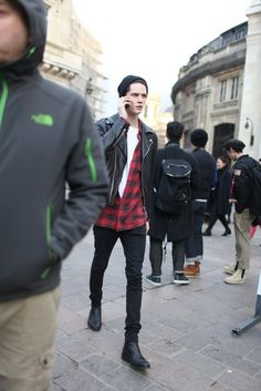They Are Wearing: Paris Men's Fashion Week Fall 2014 - Slideshow | Raddest Looks On The Internet http://www.raddestlooks.net
