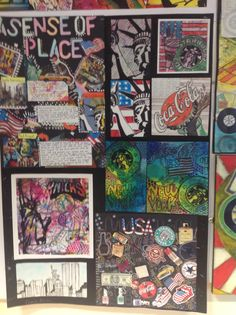 Harrop Fold student artwork