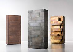 Тайники в стиле древних гробниц – оригинальный шкаф для хранения вещей Celato