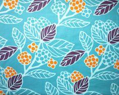 turquoise/berry/orange graphic print