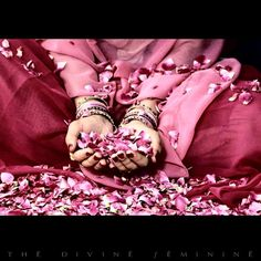 Let the rose petals of your heart open to the sunlight then send it forth:)