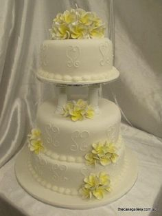 3 Tier Wedding Cakes