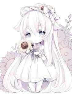 Kawaii Neko Girl, Chibi Girl, Kawaii Chibi, Kawaii Art, Kawaii Anime Girl, Anime Art Girl, Copic Drawings, Cute Cartoon Characters, Cute Anime Chibi