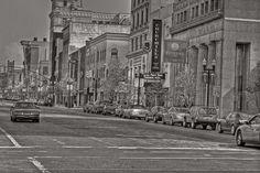Downtown Flint Michigan Scene 1 by jamesharv2005, via Flickr