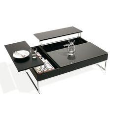 table à café idéal pour travailler avec portable