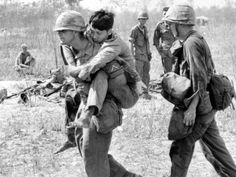 Vietnam War U.S. Aid Enemy Wounded