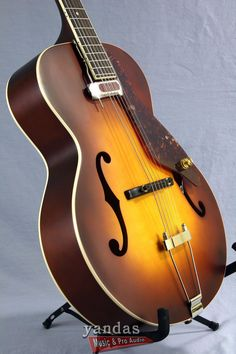 I WANT!! Gretsch G9555 New Yorker Archtop Acoustic-Electric Guitar