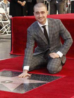 ダニエル・ラドクリフ、ハリウッドの殿堂入り!