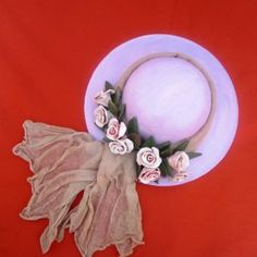 Fascinator Hats, Decoupage, Sewing Projects, Easter, Clay, Dolls, Floral, Flowers, Vintage