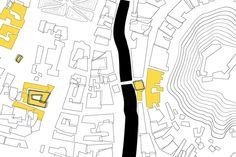 Tribuna's mapping - the map by Sara Vrbinc, via Behance