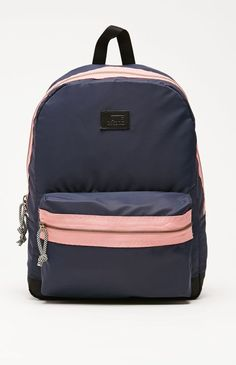 Vans Cameo School Backpack - Womens Backpack - Blue - One