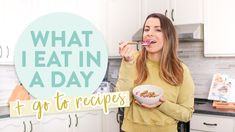 Winter What I Eat In A Day | Easy + Everyday Recipe Ideas!
