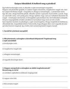 SZÖVEGÉRTÉS FELADATLAPOK 4. OSZTÁLY - webtanitoneni.lapunk.hu Humor, Learning, Sport, Anime, Dyslexia, Deporte, Humour, Studying, Sports