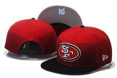 San Francisco 49ers Line Fade Snapback Hats Adjustable Cap Red Pittsburgh  Steelers Hats 2b1ea4002