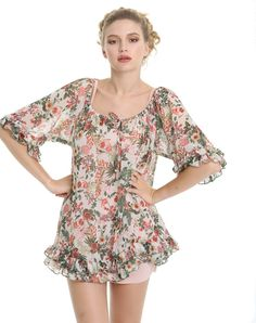 BLUSON CELINA / Mima't Boutique Manresa Tienda de ropa bonita para una mujer femenina, romántica, moderna y divertida.