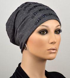 Damen BEANIE MÜTZE Longbeanie Damenmütze Chemo Cap leichte Chemomütze Inga NEU
