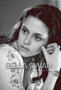bella swan, kinda weird they didn't put cullen, but it makes sense either way