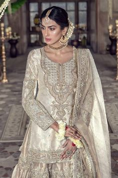 Asian Bridal Dresses, Desi Wedding Dresses, Asian Wedding Dress, Pakistani Wedding Outfits, Pakistani Dresses Casual, Pakistani Bridal Dresses, Indian Dresses, Wedding Attire, Nikkah Dress