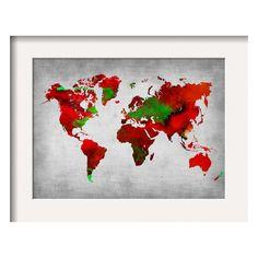 world map blue white wood wall art - blue gifts style giftidea diy cyo Visual Representation, Original Prints, Map Poster, Watercolor Map, Wall Art, World Map Poster, Painting, Art, Framed Maps