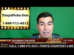 College Football Betting Picks Predictions Saturday Point Spread Odds Pr...