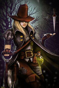 Darkest Dungeon: Grave Robber by VooDooVal on DeviantArt