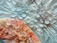 The first time I read about 3D Shibori on Polyester Fabric was in the Australian magazin Embellish, issue no 4 - 2010. The complicated t...