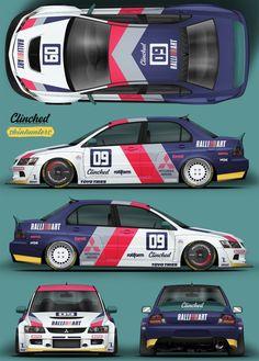 Mitsubishi Lancer Evolution 9 - New Ideas Mitsubishi Lancer Evolution, Car Folie, Mitsubishi Colt, Racing Car Design, Mazda6, Drifting Cars, Car Illustration, Japan Cars, Car Drawings
