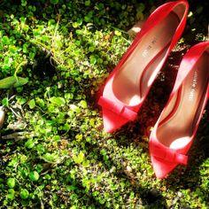 Preview Summer collection 2014 Daniele Tucci Shoes, decolletè bon ton in suadè rosa con fiocco in punta
