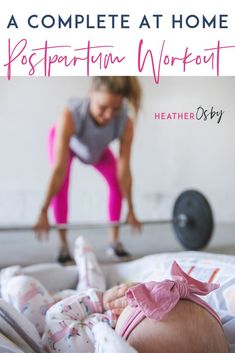 If you're currently postpartum or preparing for that chapter of your life, I think wrapping your brain around this concept is the thing you can do to make your return back to the gym as easy as pos New Mom Workout, Post Baby Workout, Post Pregnancy Workout, At Home Workout Plan, At Home Workouts, Pregnancy Fitness, Pregnancy Tips, Postpartum Workout Plan, Postpartum Care