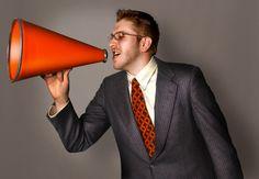 Megáfono en la expresión oral / escuchen todos