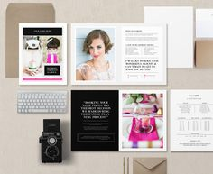 Magazine Template for Photographers by Bittersweetdesignboutique on Creative Market