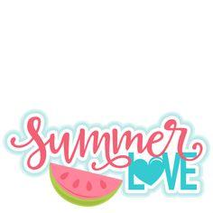 Scrapbooking Summer SVG | Summer Titles SVG scrapbook cut file cute clipart files for silhouette ...