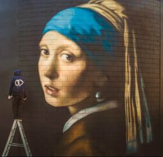 Famous Faces in Graffiti    VIEW: http://illusion.scene360.com/art/60198/famous-faces-in-graffiti/   #art #graffiti #streetart #rembrandt #newzealand
