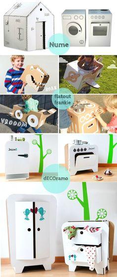 DIY Inspiration: Cardboard Appliances and Toys