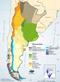Climas en Argentina (con mapas) - Taringa!