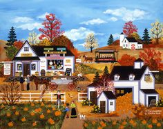Jane Wooster Scott —  As The Leaves Turn (900x717)